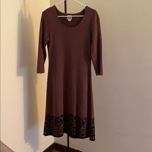 Anne Klein sweater dress